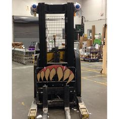 See ... we can do Halloween #forklift