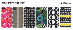 Marimekko iPhone cases for 4/4S and 5