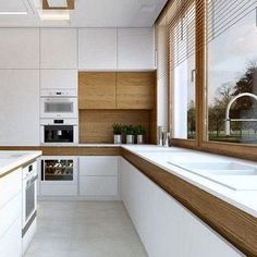 Modern Kitchen Design – Want to refurbish or redo your kitchen? As part of a modern kitchen renovation or remodeling, know that there are a . Kitchen Dinning, New Kitchen, Kitchen Decor, Kitchen Ideas, Kitchen Corner, Kitchen Layout, Dining, Modern Kitchen Design, Interior Design Kitchen