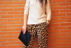 Leopard and Knit.