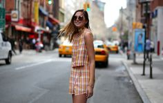ADDISONxWeWoreWhat #plaid #spring #nyc #blog #blogger #exclusive #shopbop