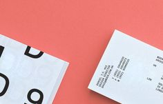 Logo and business card with blind emboss detail designed by Two Times Elliott for interior and architecture firm MDD9