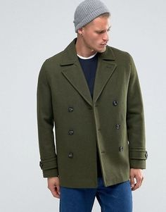 Peacoats with military-inspired detailing — like brass hardware — will move you up the style ranks. | 12 Trendy Winter Coats Styles You'll Actually Wear