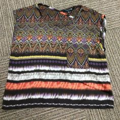 Forever 21 Split-back Blouse Lightly worn, great condition. Lightweight, 100% polyester. Forever 21 size small, boxy fit. Forever 21 Tops Blouses