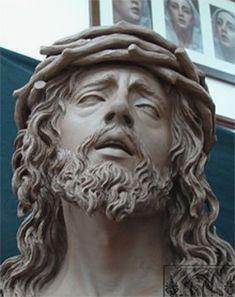 Christ Tattoo, Jesus Tattoo, Alberto Giacometti, Religious Tattoos, Religious Art, Sculpture Romaine, Statue Tattoo, Roman Sculpture, Jesus Face