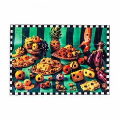 Shop 'Food With Holes' rug from the collection Seletti Wears Toiletpaper, a collaboration between Italian design brand Seletti and Toiletpaper magazine. Funky Living Rooms, Rugs In Living Room, Pop Art Images, Pet Bottle, Rectangular Rugs, Modern Colors, Modern Rugs, Cool Rugs, Branding Design