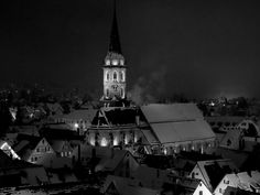 Photography : Town Church Black/White 2014 by Oliver Brecht