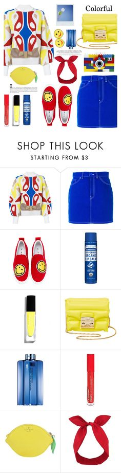 """""""Shine Bright"""" by misshonee ❤ liked on Polyvore featuring Esteban Cortazar, Polaroid, Givenchy, Joshua's, Dr. Bronner's, Furla, Thierry Mugler, L.A. Colors, Kate Spade and Lulu in the Sky"""