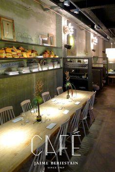 BERIESTAIN CAFE, restaurante, cafetería, tienda y floristería. En Pau Claris. Hay que ir a verlo.