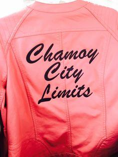 Chamoy City Limits pink ladies jacket