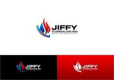 JIFFY Plumbing and Gas Logo