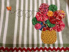 Yoyo Tea Towel Gift Idea