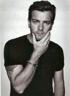 Ewan McGregor -- Oh my. Yes, please.