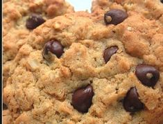 Discover recipes, home ideas, style inspiration and other ideas to try. Cookie Recipes, Dessert Recipes, Choco Chips, Good Foods For Diabetics, Sin Gluten, Healthy Desserts, Healthy Food, Chocolate Recipes, Chocolate Chocolate