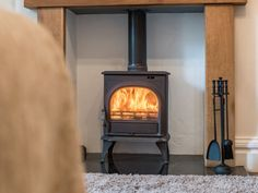 Rowan House features a wonderful wood burner for cosy nights in!