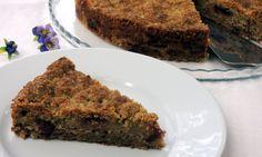 Sypaný vrstvený dort