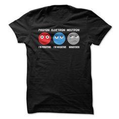 Funny Atom Science T Shirts, Hoodies. Check price ==► https://www.sunfrog.com/Geek-Tech/Funny-Atom-Science-T-Shirt.html?41382 $21
