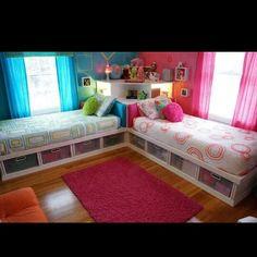 Great bedroom idea
