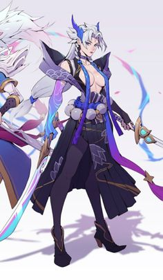Female Character Concept, Character Design Girl, Character Design References, Character Design Inspiration, Game Character, League Of Legends Game, League Of Legends Characters, Fantasy Characters, Anime Characters