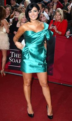 Beautiful Old Woman, Gorgeous Women, Satin Dresses, Sexy Dresses, Charley Webb, Kym Marsh, Turquoise Clothes, Celebrity Boots, Fitness Models