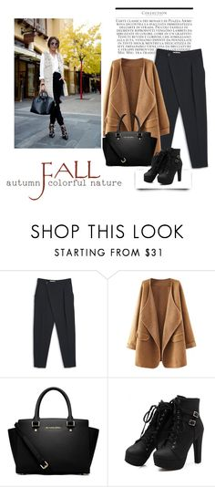 """""""#Furry Fall"""" by ammwrk ❤ liked on Polyvore featuring Mode, MANGO und MICHAEL Michael Kors"""