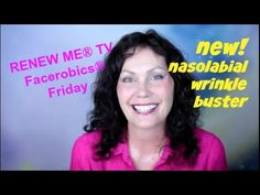 Nasolabial Fold Decreaser with Massage http://faceyogamethod.com/ - Face Yoga Method - YouTube