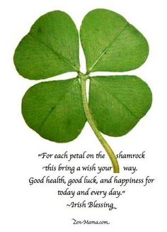 for Rosemarie-and all us other irish's :)