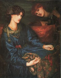 Mariana, 1868-70, oil, Aberdeen Art Gallery and Museum.
