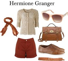 Hermione Granger, created by kristajayec on Polyvore