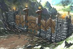 Workshops concepts created for Everquest Next architectural styles - made as freelance artist for DayBreak Game Company. The purpose was to help the community of players building voxel assets in LandmarkGame for the game EQN. (Style guide was provided by Casa Viking, Viking House, Dnd Dragons, Dungeons And Dragons, Fantasy Places, Fantasy World, Viking Character, Viking Village, Isometric Art