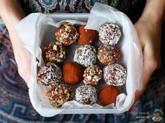 Truffles from Green Kitchen Stories - Healthy vegetarian recipes.