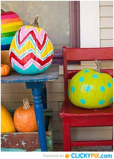 36 Creative Painted Pumpkins – Quit Carving Pumpkins