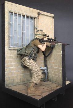 Modèles Dragon forces spéciales américaines longue portée sniper camo cover loose échelle 1//6th