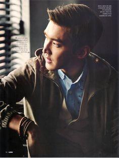 Super Junior Siwon - Leon Magazine Vol.14