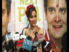 Tanisha Singh - I can do anything for RAHUL GANDHI.