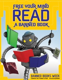 """12 Banned Book Week Classroom Activities 