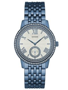 GUESS GRAMERCY | W0573L4 Michael Kors Watch, Rolex Watches, Bracelet Watch, Latest Fashion, Quartz, Crystals, Lady, Guess Watches, Stuff To Buy