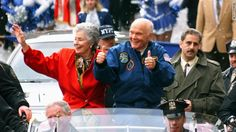 John Glenn - American Needs More Heroes! 50 years ago, he was blasted into space. But for all these years, Glenn has had a hero of his own, someone who he has seen display endless courage of a different kind: Annie Glenn.