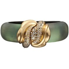 O'keeffe Matte Gold Small Bracelet .. alexisbittar...becoming a fan of this matte finish jewelry <3<3