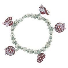 Pugster Handmade Hat Charm Gift Bracelet Pugster. $7.49. Pugster Hat Charm Bracelet. Paint Type: ENAMEL. Stones: METAL BEADS. Plating: SILVER TONE