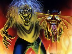 iron maiden 666 the number of the beast tattoo inspiration