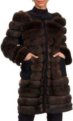 Burnett Sable Fur Stroller Coat Fabulous Furs, Shopping Spree, Neiman Marcus, Luxury Fashion, Fur Coat, Cashmere, Clothes For Women, Model, How To Wear