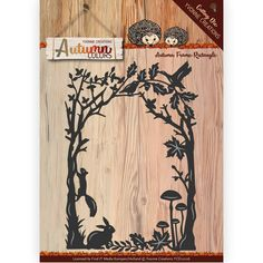 Die - Yvonne Creations - Autumn Color- Frame rectangle