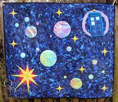 My Who-niverse by Quilted Delights for #projectquilting challenge #quilt #drwho