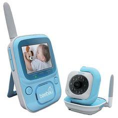 Sistema de vídeo vigilancia compuesto por monitor inalámbrico y cámara con activación autómatica de infrarrojos, visión nocturna ... etc