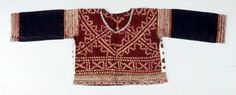 Bagobo Woman's Shirt Beading, Applique, Plangi, Embroidery, Cotton, Abaca Fiber