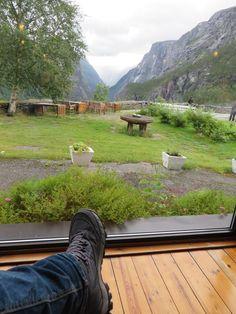 Relaxing at Stalheim Hotel, #Stalheim, #Norway. 11.8.2015