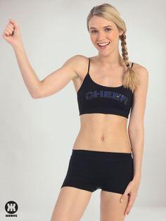"""Cheer"" Sequin & Stud   Kurve Shop #KurveDancewear #Dance  #Cheer #KURVE #KurveShop"