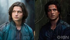 Before and after: Thomas McDonell as Finn Collins in The 100  #The100  #FinnCollins #Cw
