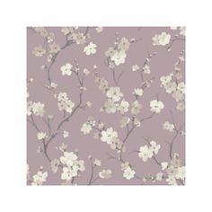 Blossom Wisteria Wallpaper (62 BRL) found on Polyvore